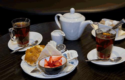 President hotell London frukost