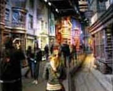 Detail at Harry Potter land London