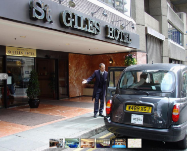 St Giles hotell London wish you welcome