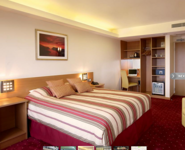 St Giles hotell upgraded room