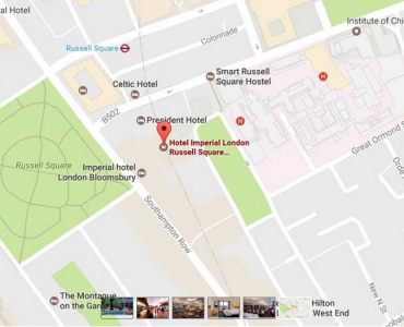 Karta Imperial hotell London