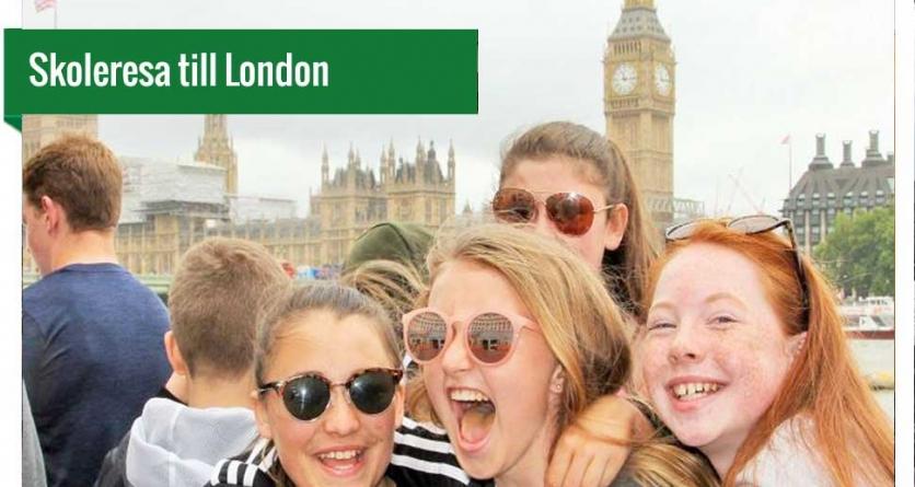Skoleresa till London